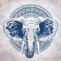 SAVING ELEPHANTS by PROZEET , via Behance