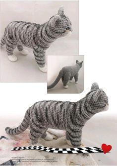 Crochet Cat Pattern, Crochet Teddy, Crochet Girls, Crochet Animal Patterns, Crochet Bear, Stuffed Animal Patterns, Crochet Patterns Amigurumi, Amigurumi Doll, Crochet Toys