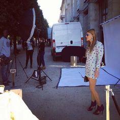 Anna Dello Russo in Paris.