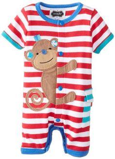 Mud Pie Baby-Boys Newborn Monkey Creeper, Multi, 3-6 Months Mud Pie http://www.amazon.com/dp/B00HN2CD6W/ref=cm_sw_r_pi_dp_rsQ2ub0MYPVCN