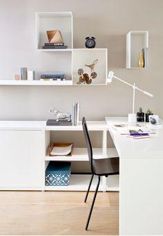 Espacios productivos http://revistaaxxis.com.co/ambientes-de-trabajo-para-el-hogar