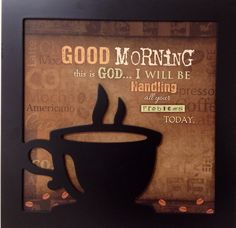 """Wall art in the new """"He'brews"""" coffee shop at DCF"""