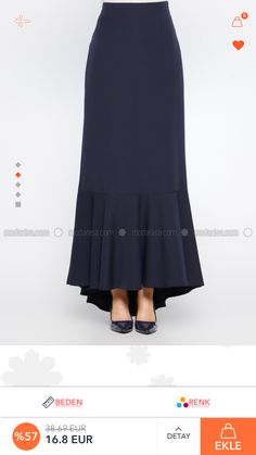 The series between barre clothes and bar clothes has started to become increasingly blurry, and that Niqab Fashion, Modest Fashion, Skirt Fashion, Boho Fashion, Fashion Outfits, Fashion Design, Skirt Outfits, Dress Skirt, Skirt Set