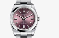 Rolex Oyster Perpetual Watch - Rolex Swiss Luxury Watches - Men's 36mm Model 116000 - $4,995