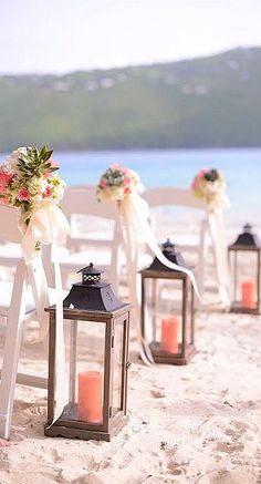 Beautiful isle accents #wedding #decor