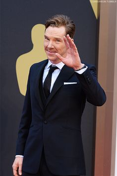 """Moved all The Benedict Cumberbatch Pictures to the Board """"BBC Sherlock at the Oscars"""" ! #Oscars2014"""