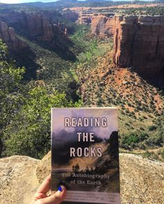 I have to take a ton of bloody math classes before I get to enjoy any geoscience classes so in the mean time give me all the books about the Earth. : today on my stop at Colorado Nat'l Monument.