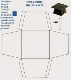 Invitaciones para graduación con moldes - Dale Detalles