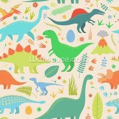 Cute Dinosaur Wallpaper | Wallsauce UK