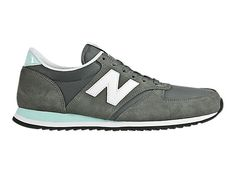 New Balance 420 - Grey with Blue & White