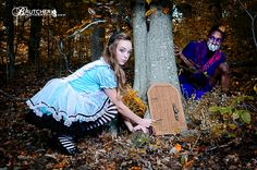 Alice in Wonderland photoshoot by Brutcher Photography by Peggy Brutcher