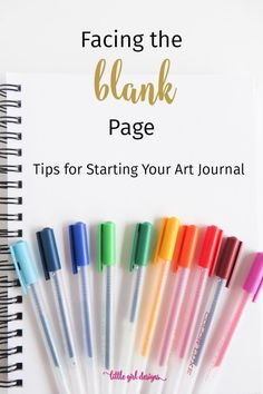 Blank Page Syndrome is a thing, right? These ideas will get you from a blank page in your art journal to creating within seconds. These prompts are perfect for beginners and also fun for those who have been art journaling for a while. Art Journal Pages, Journal D'art, Art Journal Prompts, Blank Journal, Art Journal Techniques, Art Journals, Journal Ideas, Bullet Journals, Visual Journals