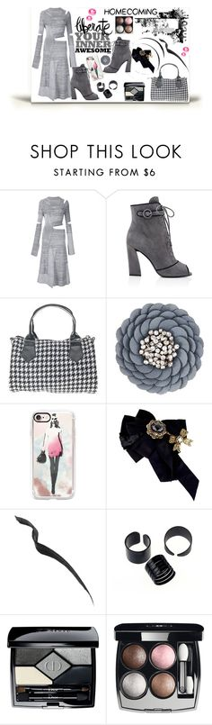 """Homecoming Style"" by jelena-topic5 ❤ liked on Polyvore featuring Proenza Schouler, Prada, Moschino, Casetify, Dolce&Gabbana, Topshop, Christian Dior, Chanel and Homecoming"