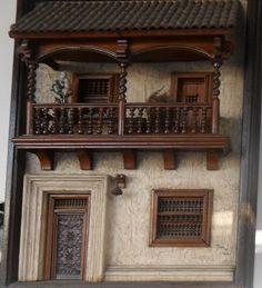 Retablo realizado por un artezano chileno.