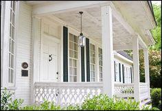 front porches | Architectural Detail: The Cottage Railing