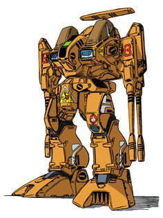 Destroid Defender.  Battletech Rifleman.