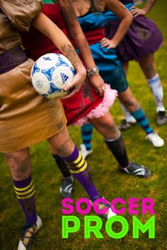 Best darn fundraiser I've ever heard of! Do this ladies! // Soccer Prom