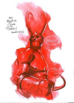 Hellboy by Gabriele Dell'Otto *