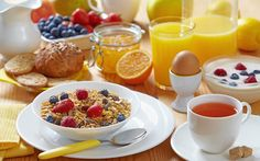Breakfast is the most important meal of the day. It is important for everyone. It provide energy and nutrients. It helps to improve the mental performance and concentration during morning activities. Some people skip breakfast in an effort to lose weight, but this is not good. A healthy breakfast is a great way to start the day.