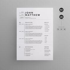 Graphic Design Cv, Cv Design, Text Design, Resume Design Template, Cv Template, Resume Templates, Templates Free, Interior Design Resume, Brochure Design