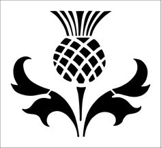 Idea for the Thistle Quilt.
