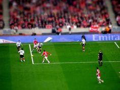 Tilt shift Arsenal