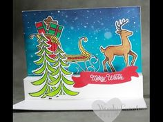 December Luvly Stampers Make & Take Event - YouTube