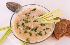 Немска супа с праз и кайма / Suppe mit Hackfleisch und Lauch