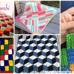 Crochet Block Blanket Free Patterns & Instructions
