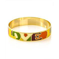 Inner Enamel Love Bracelet now featured on Fab.