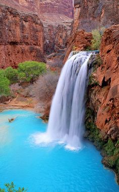 Havasu Falls Trailhead   Travel   Vacation Ideas   Road Trip   Places to Visit   Supai   AZ   Natural Feature   Hiking Area   Scenic Point