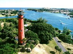 Most beautiful view in the world- Jupiter lighthouse & inlet