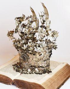 www.ParisCoutureAntiques.com  Antique Crown Headdress