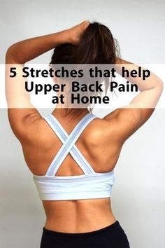 Relieve upper back pain by stretching your back in these five poses. It will correct bad posture and create mobility. The Plexus Wheel is a great tool to accomplish this.