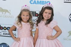Sophia Grace and Rosie. They aren't  HUGE famous yet but they are on their way I love  these 2