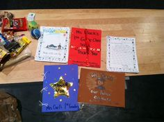 Thank You Cards for Clayton PD