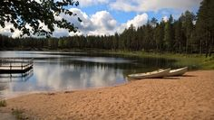 Ahveroinen, Rokua Health & Spa Hotel. Finnish nature.