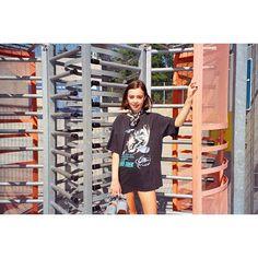 Jeffrey Campbell // @killerandasweetthang Skate park #vibes