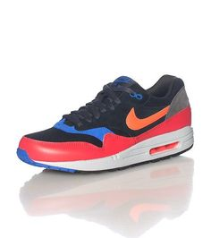 differently 2d876 e9530 Nike Air Max 1 Essential Rouge (Ref   537383-017) Basket Mode Hommes 2014