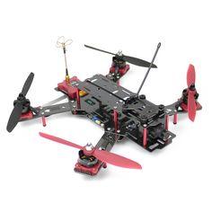 Nighthawk Pro 280 FPV Racer Mini Quadrocopter Carbon ARF Fertig montiert - Emax - FPV Racer