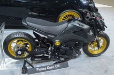 2015 Honda Grom modified by MAD Industries and ComposiMo Fabrication (Photo: C.C. Weiss/Gi...