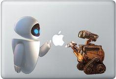 Shoply.com -Wall-e and eva macbook decal sticker. Only $9.90