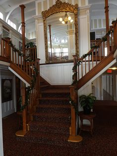 View of Grand Stair Case with vines- Okanagan Wedding Ceremony Venue - SS Sicamous - Penticton (20)