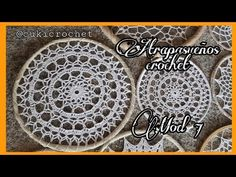 Crochet Doilies, Crochet Stitches, Los Dreamcatchers, Dream Catchers, Projects To Try, Baby Shower, Diy, Videos, Molde