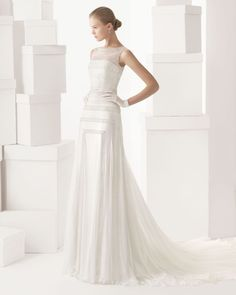 Coleção vestidos de noiva Rosa Clará 2014 #casarcomgosto #rosaclara