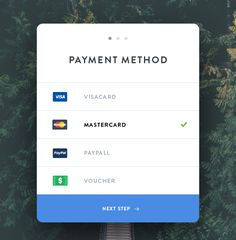 Payment Modal | Ui Parade | User Interface Design Inspiration
