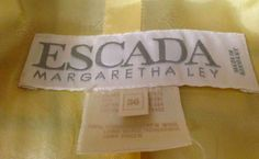 Escada Margaretha Ley - vintage items can sell for over $75 on eBay