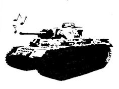 Singing Tank stencil template Stencil Templates, Stencils, Army's Birthday, Kids Army, Router Projects, Military Tattoos, Civil Service, Cnc Router, Airbrush