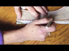 ▶ simple shoemaking: (hand sewing leather)How to make simple leather shoes that fit using your feet as lasts - YouTube