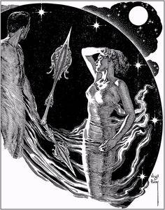 Virgil Finlay - Astrological Illustration